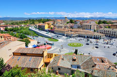 Segovia in Spain Stock Photo
