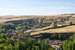Segovia Spain: landscape from Alcazar Stock Photos