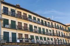 Segovia Spain: Plaza Mayor Royalty Free Stock Images