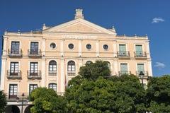 Segovia Spain: Plaza Mayor Royalty Free Stock Image