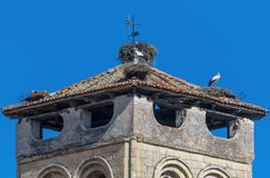 The wonderful Old Town Segovia, Spain royalty free stock images