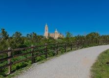 The wonderful Old Town Segovia, Spain stock photos