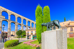 Segovia, Spain. Stock Images