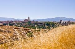 Segovia in Spanien Stockfotos