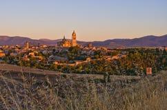Segovia in Spanien Stockbild