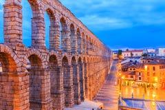 Segovia, Spanien Stockbild