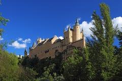 Segovia, Spanien Der Alcazar von Segovia Lizenzfreie Stockbilder