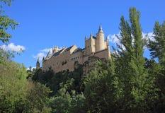Segovia, Spanien Der Alcazar von Segovia Stockbilder