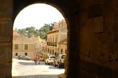 Segovia Spanien arkivbilder