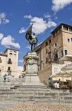 Segovia Statue to Juan Bravo Stock Images