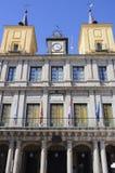 Segovia urząd miasta, Hiszpania Zdjęcia Royalty Free