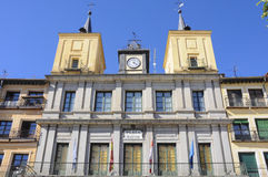 Segovia urząd miasta, Hiszpania Obraz Stock