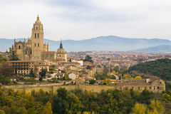 Segovia view Royalty Free Stock Photos