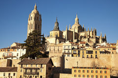 Segovia vista Stock Photo
