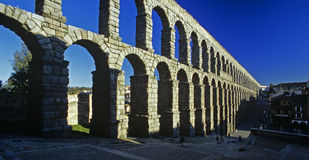 Segovian Acuaduct Royalty Free Stock Photos