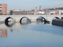 Segovias Brücke (Madrid) Stockbilder