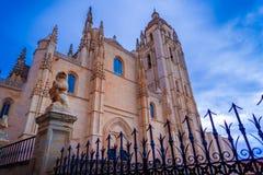 Segovias Kathedrale Lizenzfreie Stockfotos