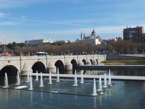 Segoviass Brücke (Madrid) Stockbild