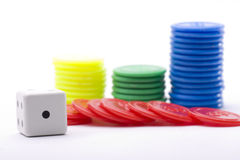 segra för kasino Arkivbild