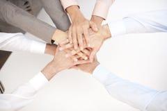 segra för teamwork Arkivbilder
