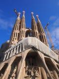 Segrada Familia, Barcelona foto de stock