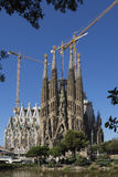 Segrada Familia - Barcelona - Spain royalty free stock images