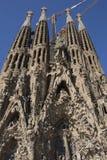 Segrada Familia - Barcelona - Spanien Fotografering för Bildbyråer