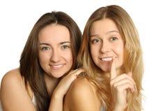 Segredos das mulheres Foto de Stock