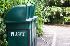 Segregate. D trash bins used for promoting environmental conservation Royalty Free Stock Image