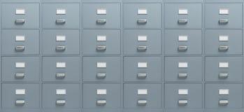 Segregowanie gabinety obraz stock