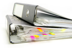 segreguje falcówki biurowe Obrazy Stock