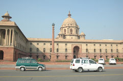 Segretariato, Delhi Fotografie Stock