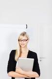 Segretario della donna Fotografie Stock