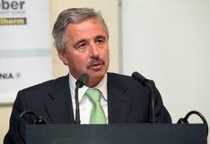 Segretario di Stato dell'ambiente Giannis Maniatis Fotografia Stock