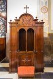 Segreto di una confessione catholicism fotografie stock