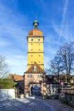 Segringen门在Dinkelsbuehl 免版税图库摄影