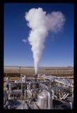 SEGS-II California del sud Edison Solar Power Plant Fotografie Stock Libere da Diritti