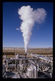 SEGS-II Süd-Kalifornien Edison Solar Power Plant Lizenzfreie Stockfotos