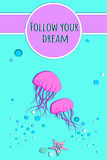 Segua il vostro sogno Royalty Illustrazione gratis