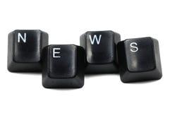 Segua le notizie Immagine Stock Libera da Diritti