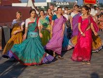 Seguaci di Krishna della lepre Immagini Stock Libere da Diritti