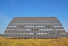 Seguaci fotovoltaici immagini stock