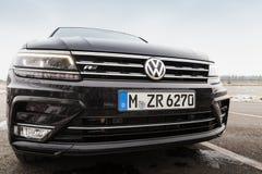Segunda generación Volkswagen Tiguan Foto de archivo libre de regalías