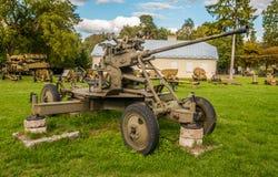 Segunda Guerra Mundial - canon Fotografía de archivo
