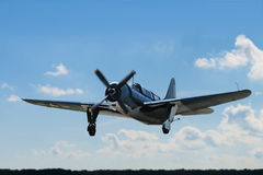 Segunda guerra mundial Curtiss Landing Foto de Stock Royalty Free