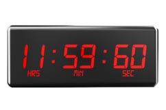 Segundo de salto en concepto de los relojes stock de ilustración