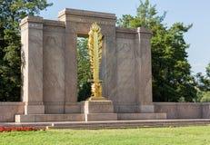 Segundo Washington DC del monumento de la división imagenes de archivo