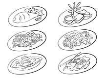 Segundos platos Fotografía de archivo