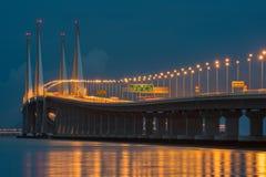 Segundos puentes de Penang foto de archivo libre de regalías