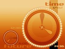 Segundos y horas stock de ilustración